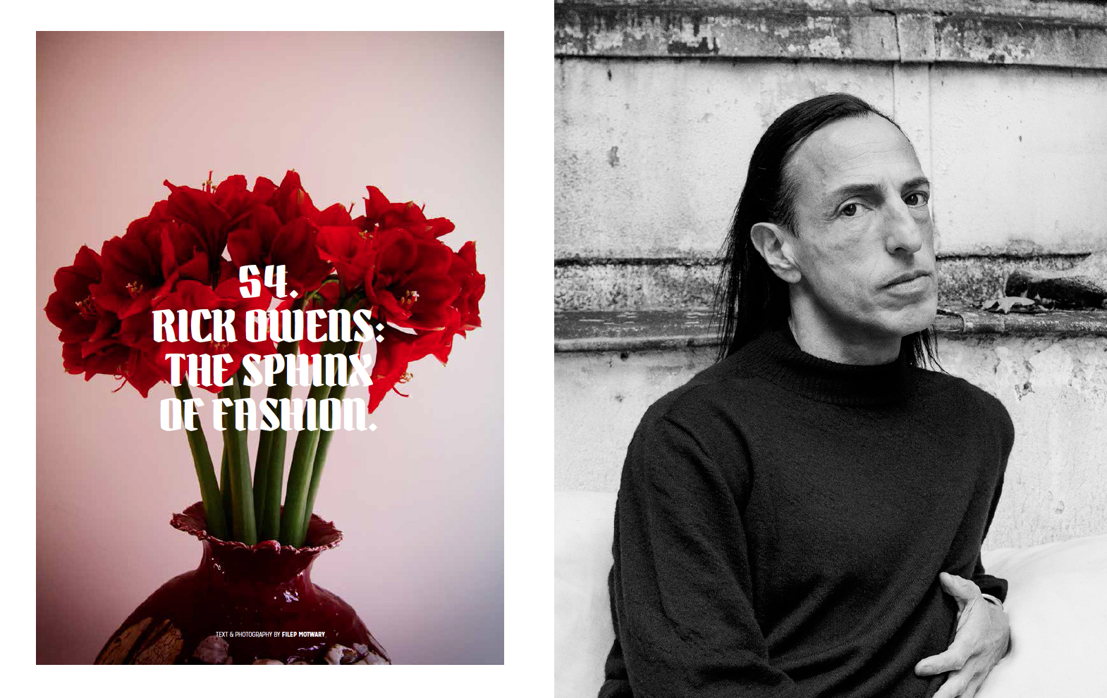 The Sphinx Of Fashion Photography & Text by Filep Motwary / Boycott Magazine, issue #3