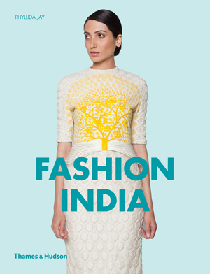 """The new book by Dr Phyllida Jay, published by Thames & Hudson, titled """" Fashion India, includes some photographs by Filep Motwary, featuring Manish Arora."""