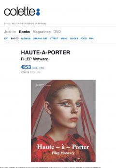 FILEP Motwary HAUTE-A-PORTER - colette HAUTE-A-PORTER - colette