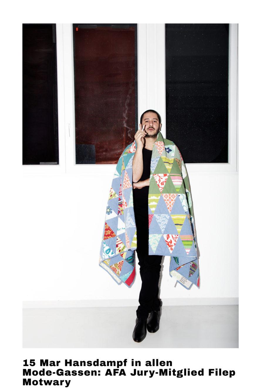 Hansdampf in allen Mode-Gassen: AFA Jury-Mitglied Filep Motwary