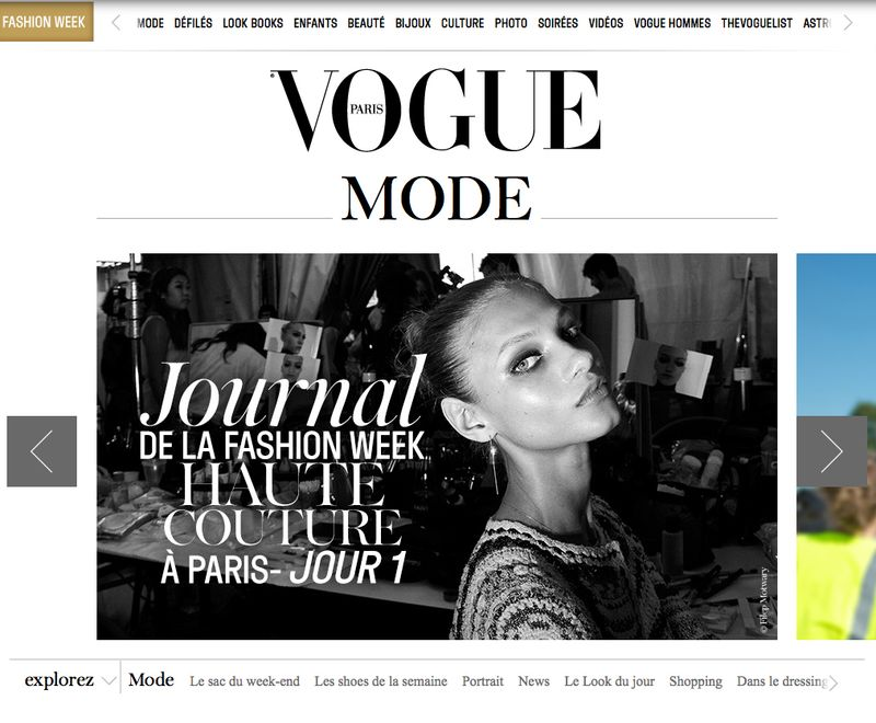 HAUTE COUTURE photoreport by Filep Motwary for Vogue.fr