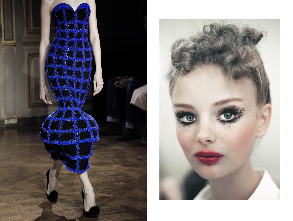 Ulyana Sergeenko Haute Couture Photography Filep Motwary