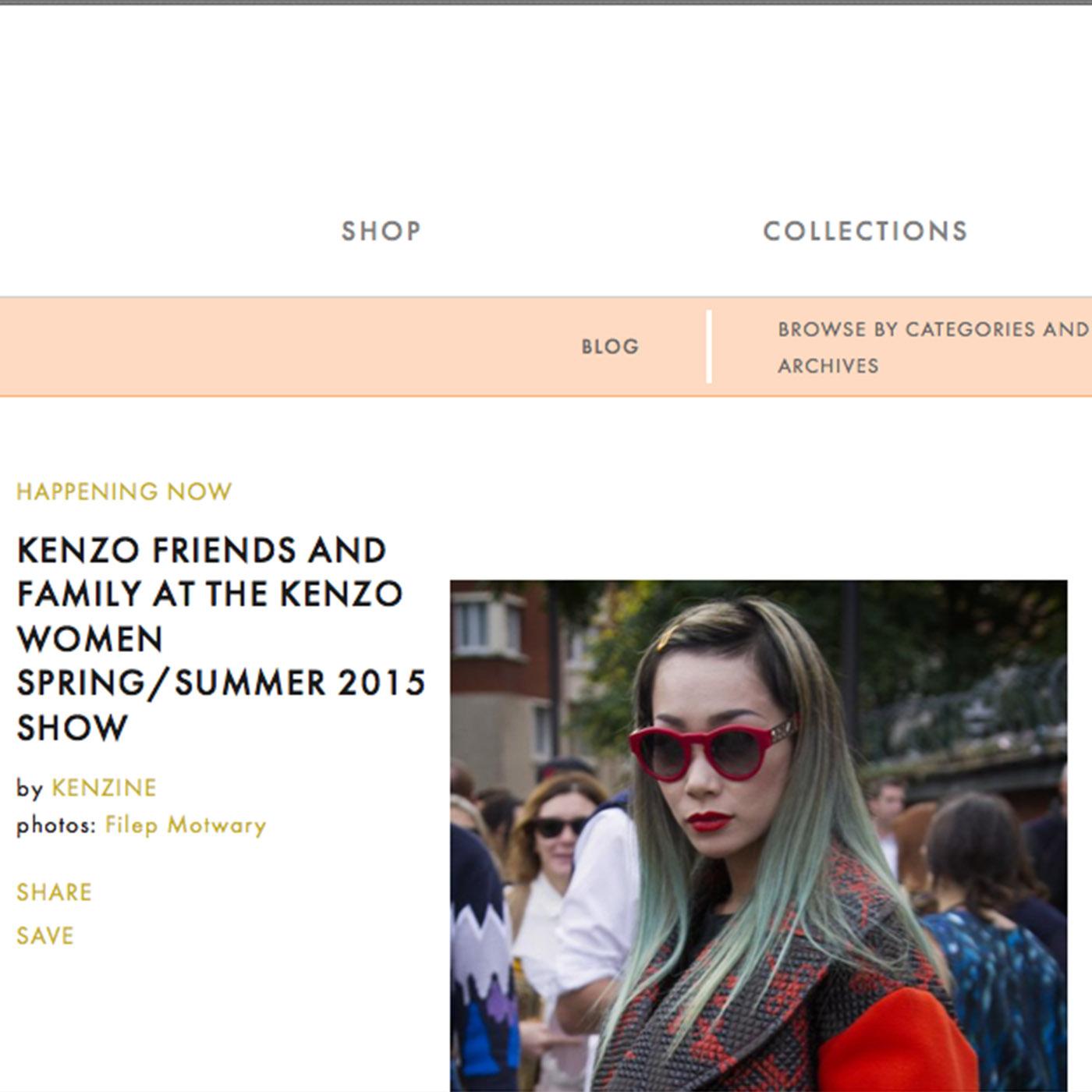 KENZINE for KENZO photography by Filep Motwary