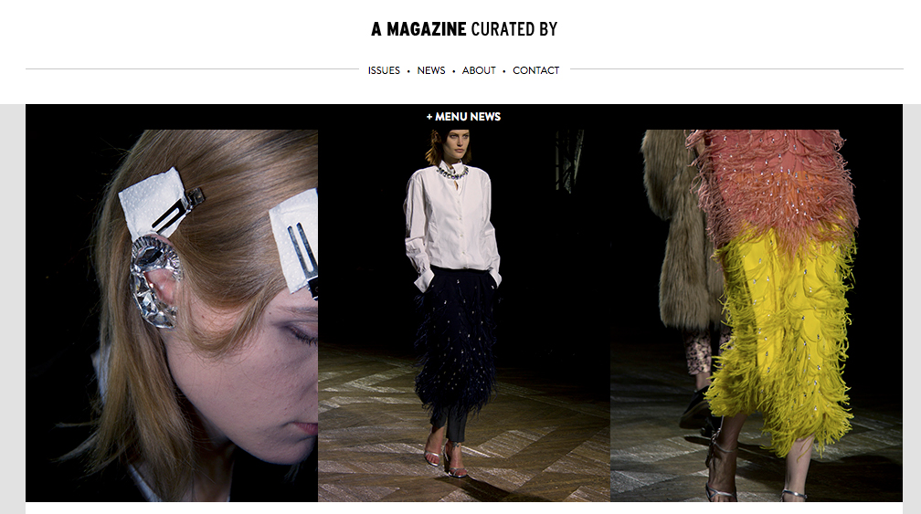 Filep Motwary photos for Dries Van Noten on A magazine curated by