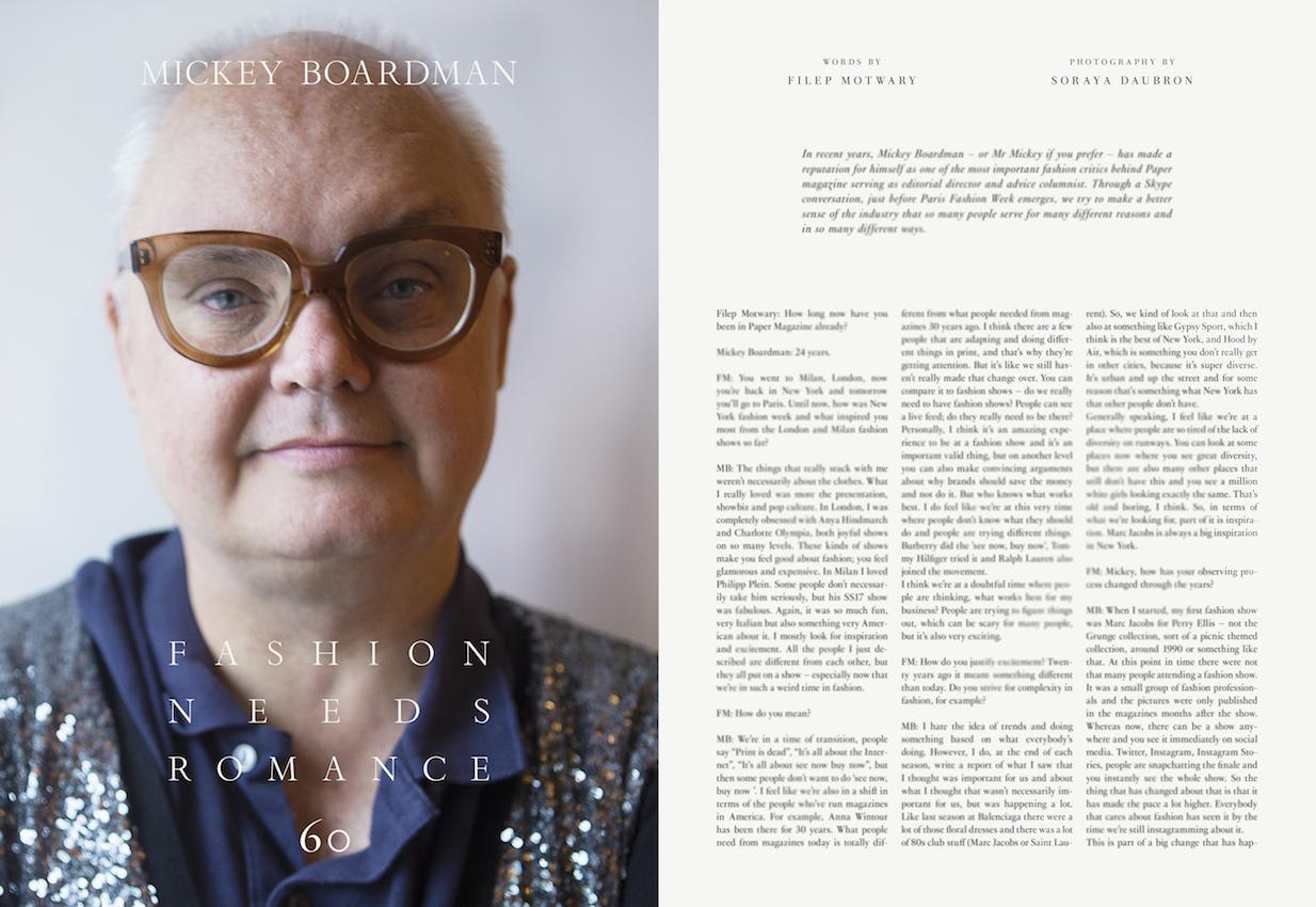 Mickey Boardman talks to Filep Motwary METAL Magazine #36