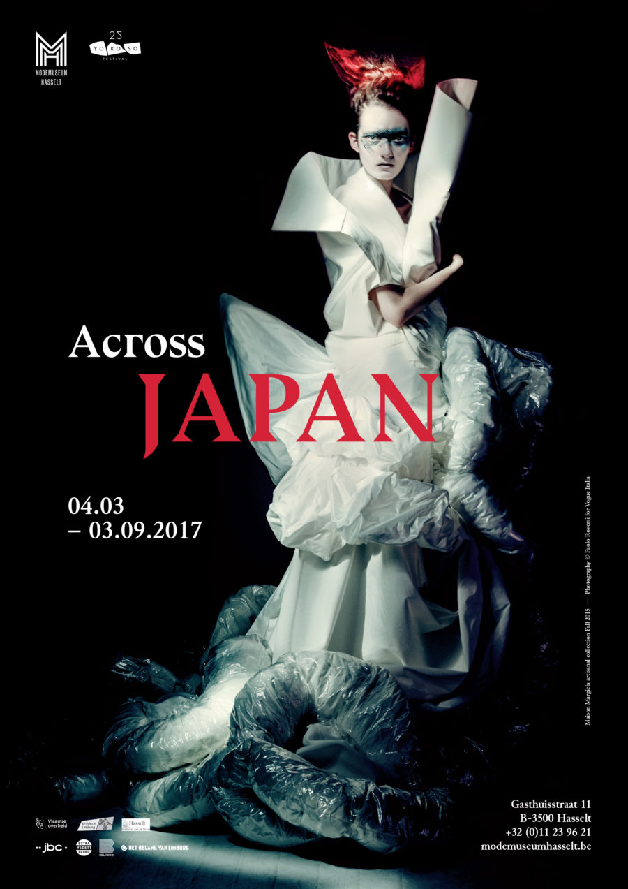 Opens on March 4th, 2017 Curator: Karolien De Clippel , Garment, visual research, poster curation and tittle BY Filep Motwary, Production, Modemuseum Hasselt Grephic Design, Tim Peters , Photography by Paolo Roversi ( ART + COMMERCE) featuring Maison Margiela Artisanal Fall 2015 _ Apeared in Vogue Italia issue September 2015.