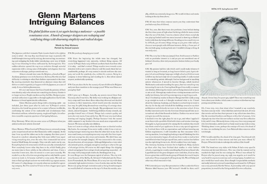 GLENN MARTENS FILEP MOTWARY METAL MAGAZINE 37